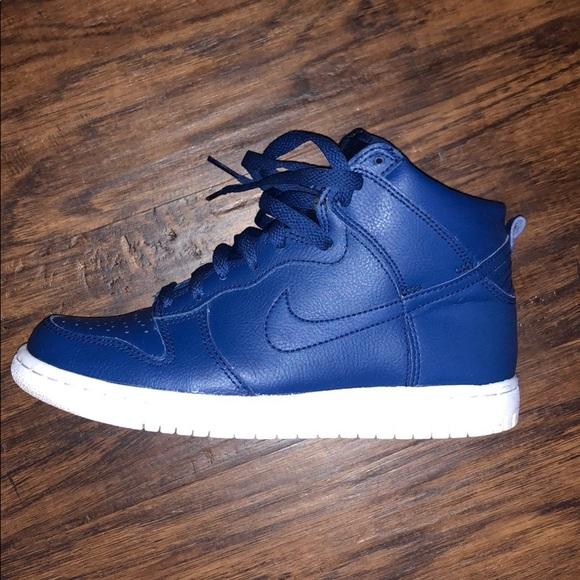 Nike Shoes | High Top Royal Blue Nike